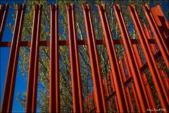 An Avonmouth Fence (zolaczakl ( 2 million views, thanks everyone)) Tags: uk red england southwest docks fence bristol april avonmouth 2016 nikond7100 photographybyjeremyfennell sigma1835mmf18dchsmlens