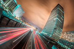 Rush (Risto_Les) Tags: paris cityscape sony ladefense 12mm samyang a7r