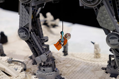 INSIDE the BRICK Darebin 2016: Going Up (Andrew D2010) Tags: starwars lego walker atat hoth minifigures iceplanet insidethebrick darebinartsentertainmentcentre