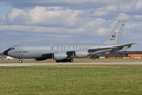 63-8043 KC-135R Stratotanker - AK / 168thARS/186thARW/AK ANG - Eielson AFB, AK