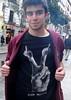 Mani REPÚBLICA - arte (Fotos de Camisetas de SANTI OCHOA) Tags: arte humor peineta