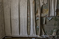 Layers (mydoghasnono.se) Tags: old wallpaper house rot abandoned home peeling decay yorkshire decoration urbanexploration peel decorate damp urbex
