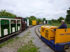 P1050764 (Hampton & Kempton Waterworks Railway.) Tags: diesel loop devon galaday 2015 darent spelthorne modwagon colinswagon
