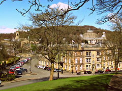 Buxton from the Slopes (kingsway john) Tags: town buxton district derbyshire peak crescent dome slopes hallbank
