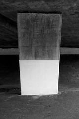 (Delay Tactics) Tags: bridge bw white black concrete support under pillar below column tring flyover