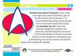 Star Trek The Next Generation 1992 series Trading Card 078 Back (zigwaffle) Tags: startrek card trading sciencefiction 1992 startrekthenextgeneration paramount impel