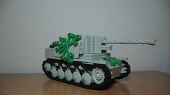 Marder II (italianww2builder) Tags: war tank lego contest destroyer ii ww2 custom build panzer marder
