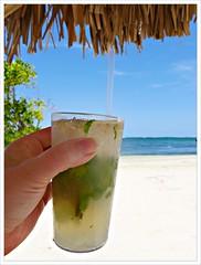 (Free 2 Be) Tags: beach sand drink jamaica mojito montegobay caribbeansea