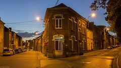Y (Tim Boric) Tags: streets dusk maisons fork rues schemering charleroi straten bifurcation dampremy splitsing ruegnraldegaulle ruedeheigne ruejosephwauters