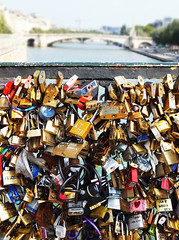 Locked Love (Gelan') Tags: bridge paris love cadenas amour pont archeveche