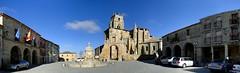 Sasamn (santiagolopezpastor) Tags: plaza espaa church square spain gothic iglesia medieval plazamayor burgos espagne middleages castilla castillaylen gtico provinciadeburgos