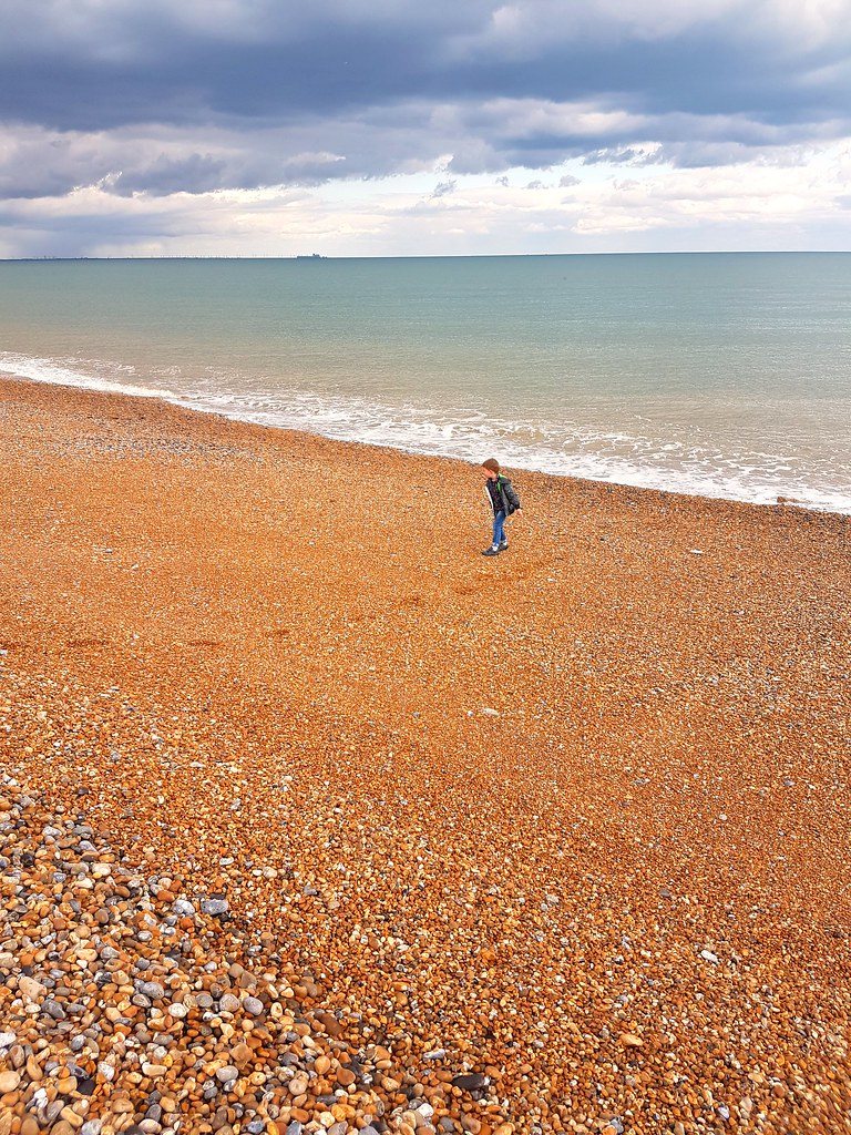 Russell at Winchelsea beach