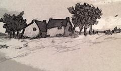 X (lord marmalade) Tags: sketch graphite bucolic