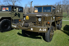 A.M. General M35A2 2.5 ton truck (albionphoto) Tags: usa lafayette jeep nj cadillac landrover willys oshkosh militaryvehicle amgeneral m35a2 marshallofcambridge militarytransportassociation