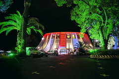 Casino Park (waldo.posth) Tags: park niemeyer night hotel oscar sony casino di tamron madeira 28300mm funchal f3563 pzd slta99v