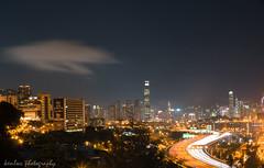 one night in lai king (kenlwc) Tags: longexposure sky hk cloud night hongkong 50mm moving long exposure slow ken shutter noctilux leung leicalens laiking  sonya7 kenlwc