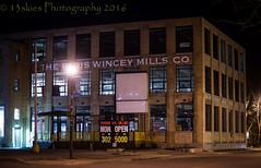 Paris Wincey Mills (HWW) (13skies) Tags: paris building night dark downtown nightshot historic tradition parison hww windowwednesday happywindowwednesday sonyalpha99