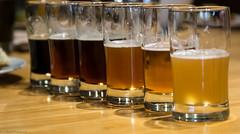 The beer-rainbow. (inBurble) Tags: beer yumyum cumberland craftbeer omnomnom riderspizza cumberlandbrewingco