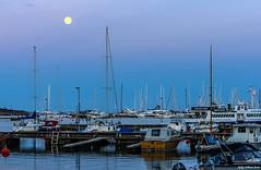 IMGP2667 copy (Tapio Kekkonen) Tags: summer moon beach sunrise sailing hanko subset bech finlad