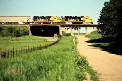 ATSF, Matfield Green, Kansas, 1985 (railphotoart) Tags: unitedstates kansas matfieldgreen stillimage
