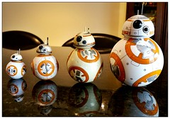 My BB-8 collection. (Witty nickname) Tags: toys starwars samsung android droid bb8 starwarstheforceawakens