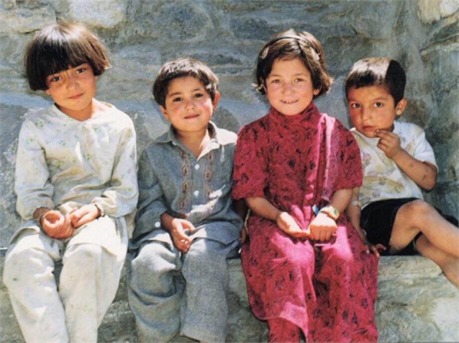Pakistan kid