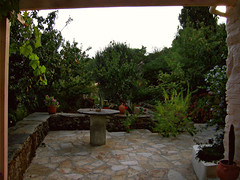 Early morning start - AMID 01 (angeloska) Tags: house home nature architecture yard garden hiking ikaria aegean september greece   chalares mountaingorge raches   dipotama wildswimming diplopotama   upperchalares