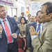 GAVI CEO, Seth Berkley visits a district vaccine store in Ghaziabad, Uttar Pradesh