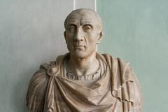 Romans  IXL: Unknown (Mid 1 cent. BC) (egisto.sani) Tags: portrait sculpture rome roma art florence arte roman romano firenze marble uffizi ritratto romana degli scultura marmo galleria uffizi