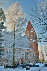 Biestow #5 (victorlaszlo73) Tags: winter sunny sonnig dorfkirche mecklenburgvorpommern biestow