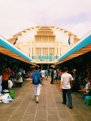 The Central Market (zingertek) Tags: cambodia market traditional bustling