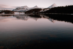 calm (Barbara.K) Tags: sea mountains water norway landscape outdoor fjord peaks canon500d tamron18200mm alienskinexposure canonrebelt1i