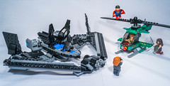 Lego 76046 - Battle in the sky (gnaat_lego) Tags: review superman wonderwoman batman dccomics superheroes loislane lexluthor gnaat 76046