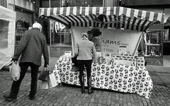 Farmers Market 2 (Song-to-the-Siren) Tags: blackandwhite bw 35mm 35mmfilm 100 pan analogue ilford compactcamera classiccamera ricohgr1 ilfordpan100