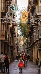 A Girl on the Street (Shinichiro Hamazaki) Tags: barcelona street spain alley raval
