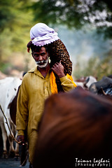 Super Dad! (Taimur Laghari) Tags: portrait people nikon father culture superdad cholistan taimur laghari