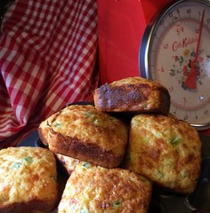Just cooking. (daffodil.lane) Tags: cathkidston sundaybaking comfortfoods redgingham jalapenocornbread