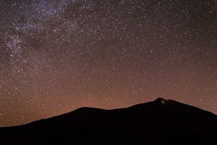 The Teide and the milky way (Marine Buff) Tags: night way noche tenerife teide milky nuit voie lacte