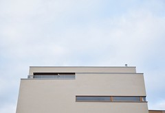50/50. (MisterSifter.) Tags: sky architecture photography nikon fotografie bluesky lookingup architektur ruhrgebiet dortmund ruhrpott mypointofview architecturephotography phoenixsee nikonphotography vsco eyeforphotography vscocam nikond5300