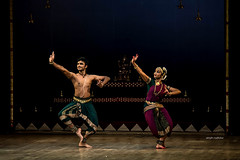 Parshwanath and Shruthi (Abhijith Madhukar) Tags: art dance costume nikon artist dancing stage indian performance performing dancer classical bharatanatyam d7100
