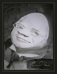 Eduard Wiiralt Caricature (lloydboy52) Tags: ink sketch estonia artist famous egg caricature tribute egghead humptydumpty inkpainting inkwash graphicartist favoriteartist eduardwiiralt eduardwiiraltcaricature