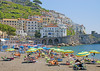 The beach at Amalfi, Amalfi Coast, Campania, Italy (Rosie Girl1) Tags: people italy beach buildings onthebeach italia campania amalficoast relaxing bluesky oldbuildings it resting amalfi thebeach lotsofpeople patevans colourfulbuildings beautifulbuildings a580 rosiegirl rosiegirl1 therosiegirl therosiegirl1