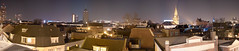 Enschede Centrum Nacht Skyline (josbert.lonnee) Tags: city sky panorama skyline night rooftops nacht outdoor towers roofs lucht enschede torens nite stad daken megapixels enschedecentrum