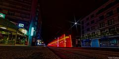 Ghost Tram#03 (Yann Cariou) Tags: tram nuit poselongue exsitu joulstours samyangf2814mm