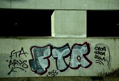 graffiti (wojofoto) Tags: graffiti highway belgium belgie antwerpen snelweg fta wolfgangjosten wojofoto
