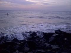 eARLY mORNING sAGA #seashore #beach #sea... (rahul ravi singh) Tags: sea beach water sunrise landscape seashore rockbeach uploaded:by=flickstagram instagram:photo=11665321269195214252267891948 instagram:venuename=rockbeach2cpondicherry instagram:venue=225789735