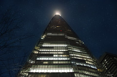 The Shard (Vanessa Guerreiro Photography) Tags: sky london night lights united kingdom buidling