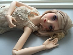 1920's Fashion (Calfuraay) Tags: 1920s fashion doll dress skin ns sd wig cecilia bjd normal fairyland lockhart f60 lacrima fm60 musedoll feeple60 fantyfoo