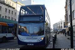 15602 (northwest85) Tags: street west bus worthing south 400 alexander dennis pulse 700 stagecoach scania enviro gx10 adl durrington hbl coastliner 15602 gx10hbl