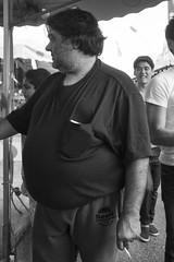 DSC08161_epgs (Eric.Parker) Tags: cne 2015 canadiannationalexhibition fair fairgrounds rides ferris merrygoround carousel toronto fairground midway bw funfair